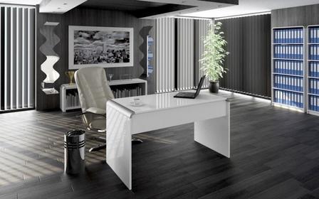 Hubertus biurko 130 cm MILANO - NORDIC&WHITE