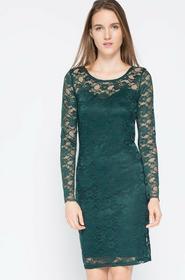 Vero Moda Sukienka - - Sukienka Joy Jupiter zielony 10139938