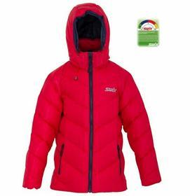 Swix Kurtki narciarskie Glacier Jr Czerwony 6/8 2013-2014