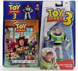 Toy Story 3 + Buzz Lightyear (Buzz Astral) (Disney) DVD+[ZABAWKA]