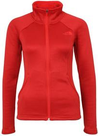 The North Face AGAVE Kurtka z polaru high risk red heather T92TXN
