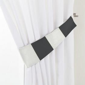 Dekoria Podwiązka Victoria, pasy czarno-białe, 12 x 70 cm, Comics