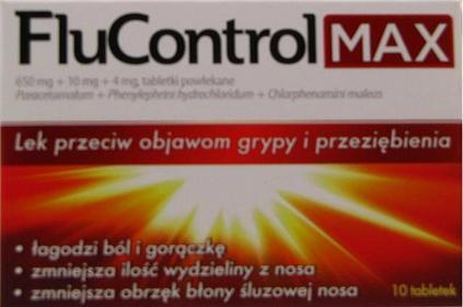 Aflofarm Flucontrol Max 10 szt.