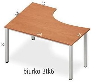 Antrax Biurko narożne Btk6
