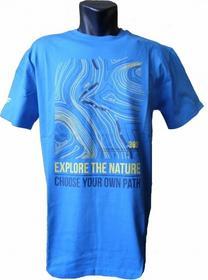 4F T-shirt niebieska L TSM008