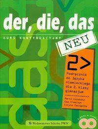 Kozubska Marta, Krawczyk Ewa, Zastąpiło Lucyna Der die das neu 2 Podręcznik z płytą CD Kurs kontynuacyjny