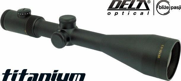 Delta Optical Luneta celownicza Titanium 2,5-10x56 4A IR (DO-2403) D
