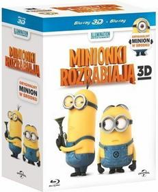 Minionki rozrabiają + Minionek Stress Ball [Blu-Ray 3D]+Blu-ray+[Gadżet]