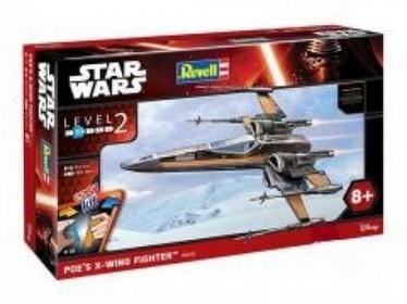 Star Wars. Poe's X-wing Fighter 55 elem.