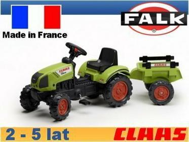 Falk Traktor Claas z przyczepą FA2040C