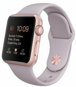 Apple Watch 38 mm Aluminium / Lawendowy
