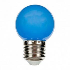 Spectrum Żarówka diodowa kulka niebieska 8 LED 230V 1W E27/B22d WOJ+11797(E27) W