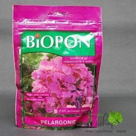 Biopon Nawóz do PELARGONI 0,25kg