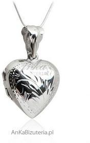 AnKa Biżuteria Zawieszka srebrna serduszko - puzderko Biżuteria na prezent!