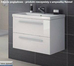 Elita Szafka z umywalką 80 Kwadro White (162309 + 22052012)