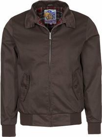 Harrington kurtka wiosenna brązowy HA422G002-702