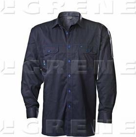 Grene koszula GWB niebiesko-granatowa, roz. 2XL 1963-7030083046