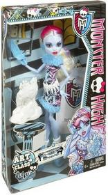Mattel Monster High Upiorna sztuka Abbey BDF13