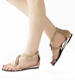 Beżowe sandały Kamila beżowy