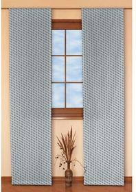 Dekoria Panel 2 szt. Rustica szaro-grafitowe wzory geometryczne