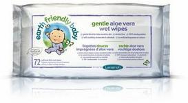Earth Friendly Baby Ekologiczne chusteczki pielęgnacyjne, 72