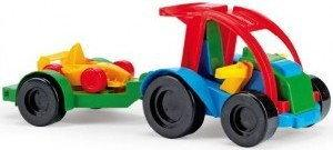 Wader Auto z przyczepą i Kid Carem