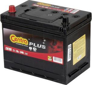 Centra Plus 12 V 70 Ah 540 A L+ CB705