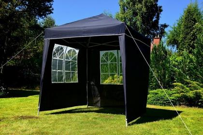 Pawilon - namiot handlowy 2x2 m, składany, kolor granatowy