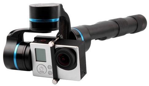 FeiYu Tech Gimbal ręczny do kamery GoPro FY-G4 3-Axis - niebieski