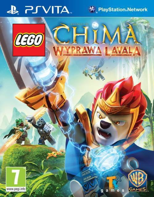 Legends of Chima: Wyprawa Lavala PS Vita