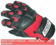 Nazran (Inmotion) Rękawice motocyklowe czerwono-czarne z siatką - rozm. XL