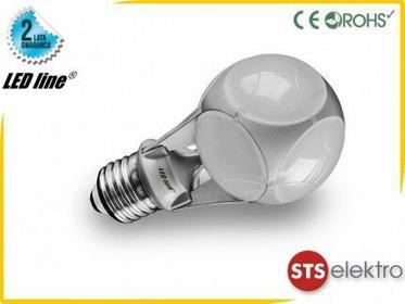 LED Line Żarówka 24 LED E27 SMD5630 230V 10W ciepła CCD 242670