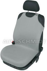 Kegel-Błażusiak basic line Pokrowiec koszulka SINGLET na przedni fotel popielaty