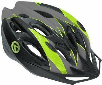 Kellys Kask rowerowy BLAZE black-grey-green