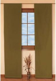 Dekoria Panel 2 sztuki Taffeta oliwkowy
