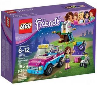 LEGO Wóz badawczy Olivii 41116