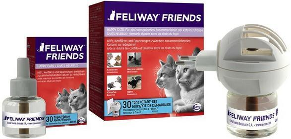 Feliway Friends dyfuzor z feromonem C.A.P. - Flakonik 48 ml (bez dyfuzora)