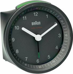 Braun Radiowy zegar z Budzikiem 80 x 80 x 56 mm szary
