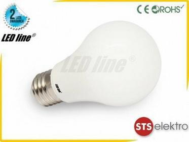 LED Line Żarówka LED E27 SMD 230V 12W ciepła Kulka CCD 245527