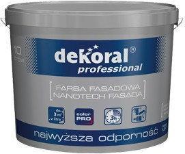 Dekoral NANOTECH FASADA Professional farba Farba fasadowa 10L