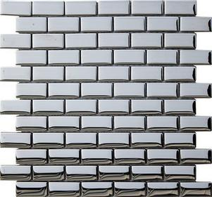Ceramstic Impress Mozaika 32,5x32,5 Srebrny Poler