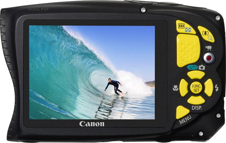 Canon Powershot D20 żółty
