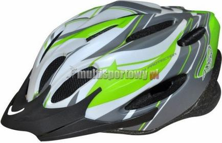 AXER KASK ROWEROWY VOYAGER MAT WHITE A0173-L