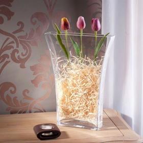 Dekoria szklany Wazon SLIM wys. 40 cm