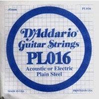 DAddario PL016 struna do gitary