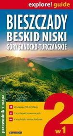 Bieszczady, Beskid Niski, Góry Sanocko-Turczańskie 2 w 1- przewodnik + mapy - Zapowiedz, wysyłamy od:  2011-08-16 - SKORZYSTAJ Z DOSTAWY GRATIS!