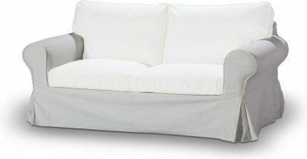 Dekoria Pokrowiec na sofę Ektorp 2-osobową, nierozkładaną Living 100-16