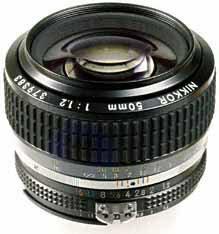 Nikon MF 50mm f/1.2