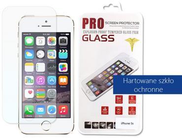 Etuo.pl szkło - Apple iPhone 5 / 5S - szkło hartowane FOAP009TEGL000000