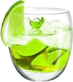 Krosno Kuliste szklanki do drinków Caipirinha komplet 4szt